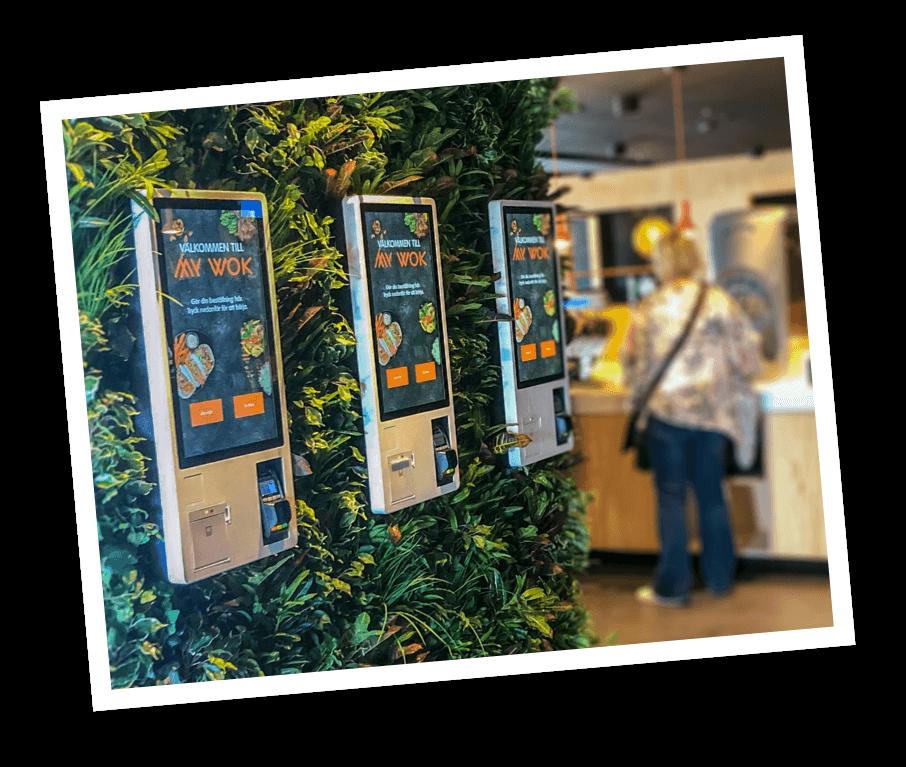 Ancon Express Self-Service Kiosk installation