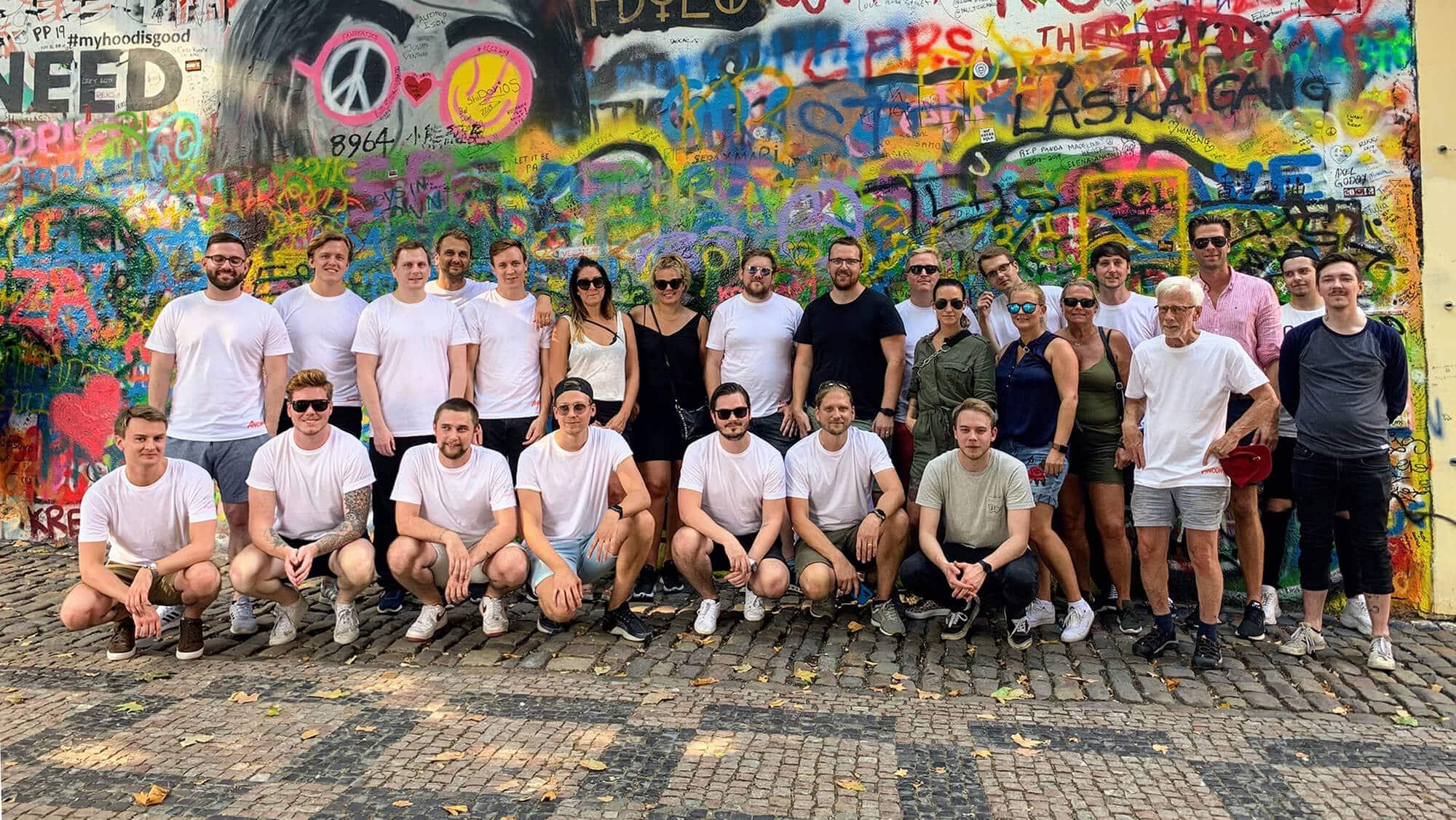Ancon staff in Prague