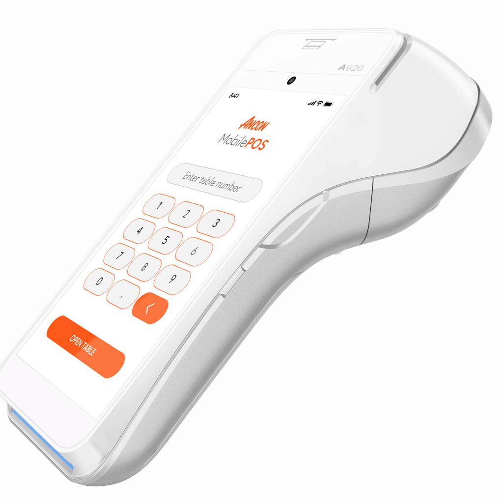 Ancon G2 MobilePOS-Bild på kassasystem för restauranger