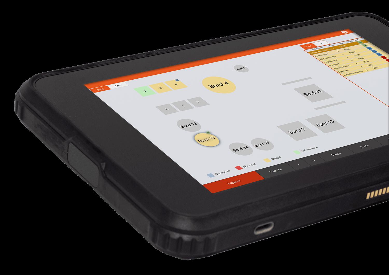 G2 Tablet - Bordskarta