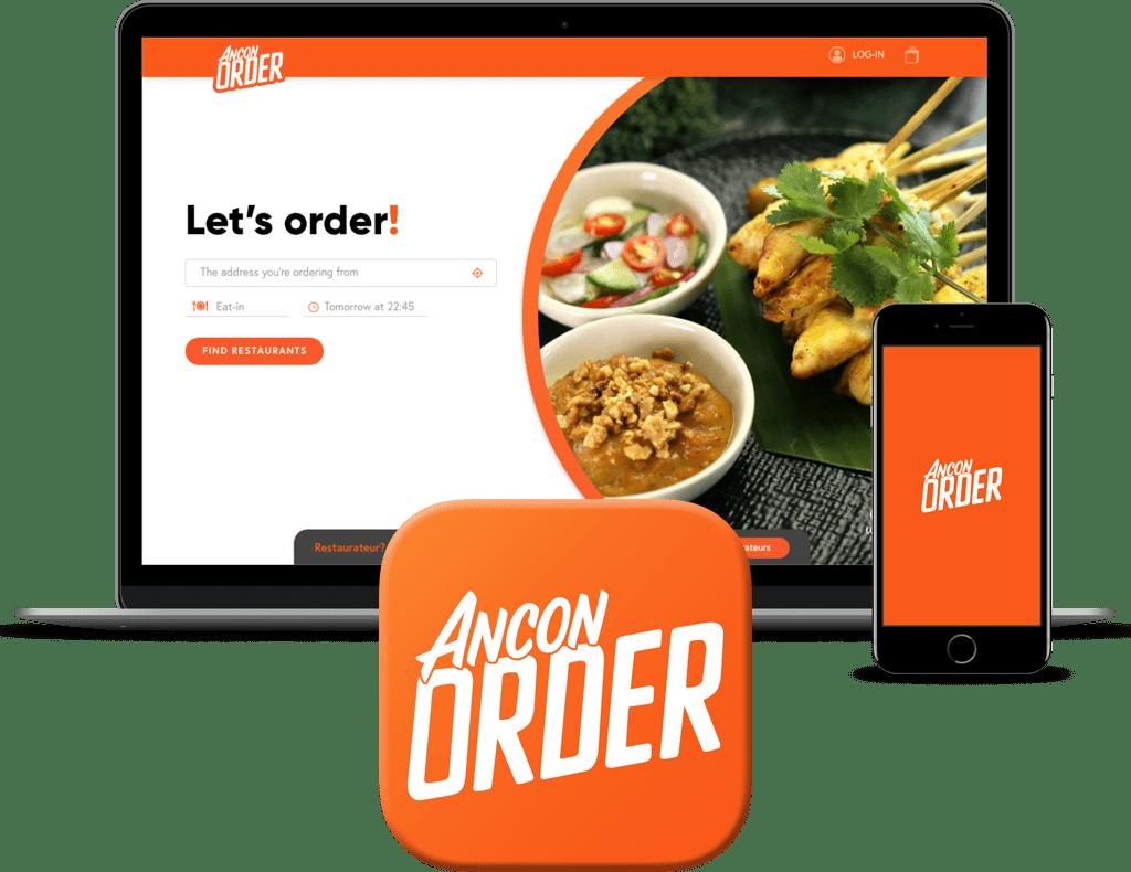 Ancon Order laptop & phone