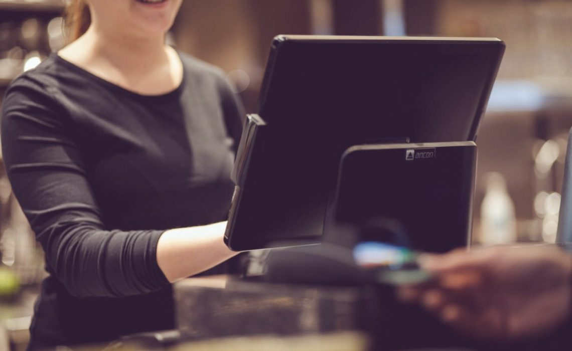 Betalning vid ett kassasystem