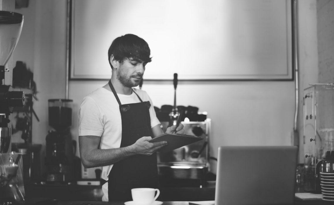 Barista Cafe Apron Cafe Coffee Restaurant Service Concept